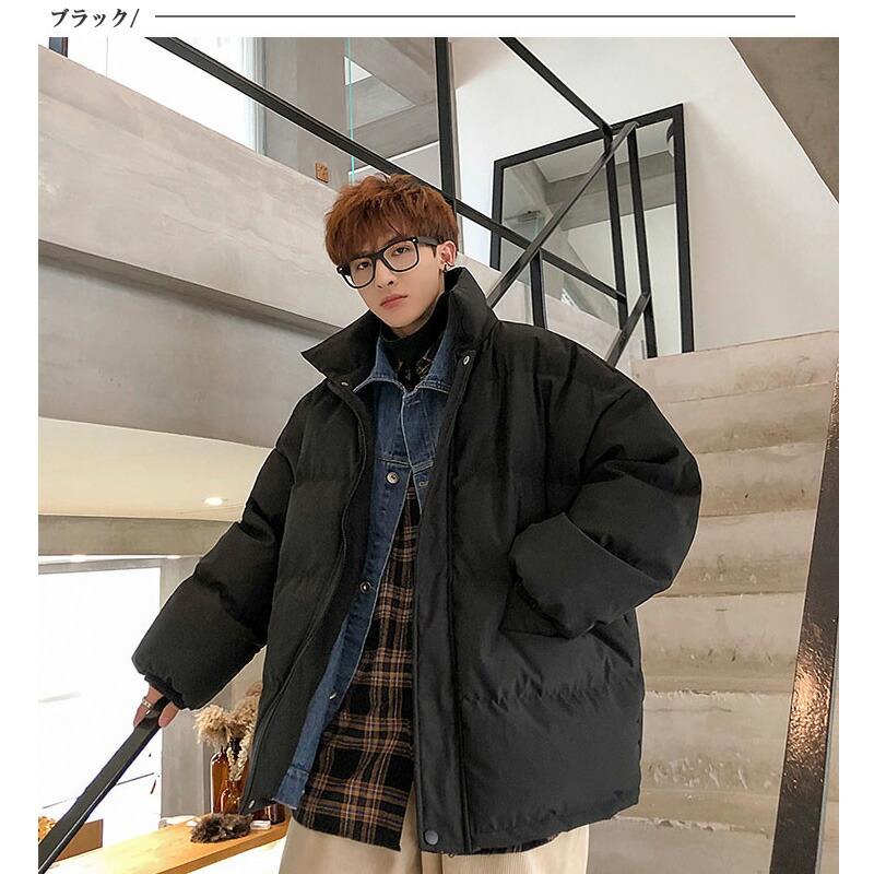 ビッグシルエット フェイクレイヤード 中綿 ジャケット デニムジャケット Gジャン 重ね着風 韓国 ファッション メンズ ゆったり 長袖 ロングスリーブ メンズ ストリート カジュアル メンズ 秋 冬 個性 大きいサイズ アウター ストリート