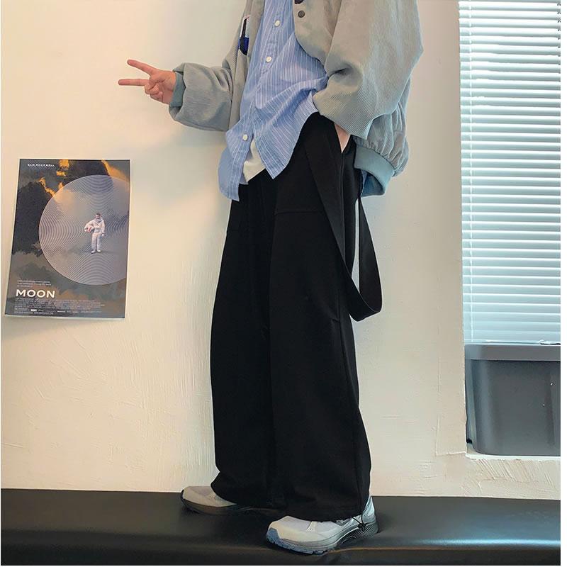 スウェットパンツ サスペンダーパンツ サロペット リラックスパンツ 裾 絞り しぼり バルーンパンツ アラジンパンツ ワイドパンツ ボトムス 個性 夏 秋 春 モード  メンズファッション カジュアル トレンド メンズ レディース ユニセックス 大きいサイズ