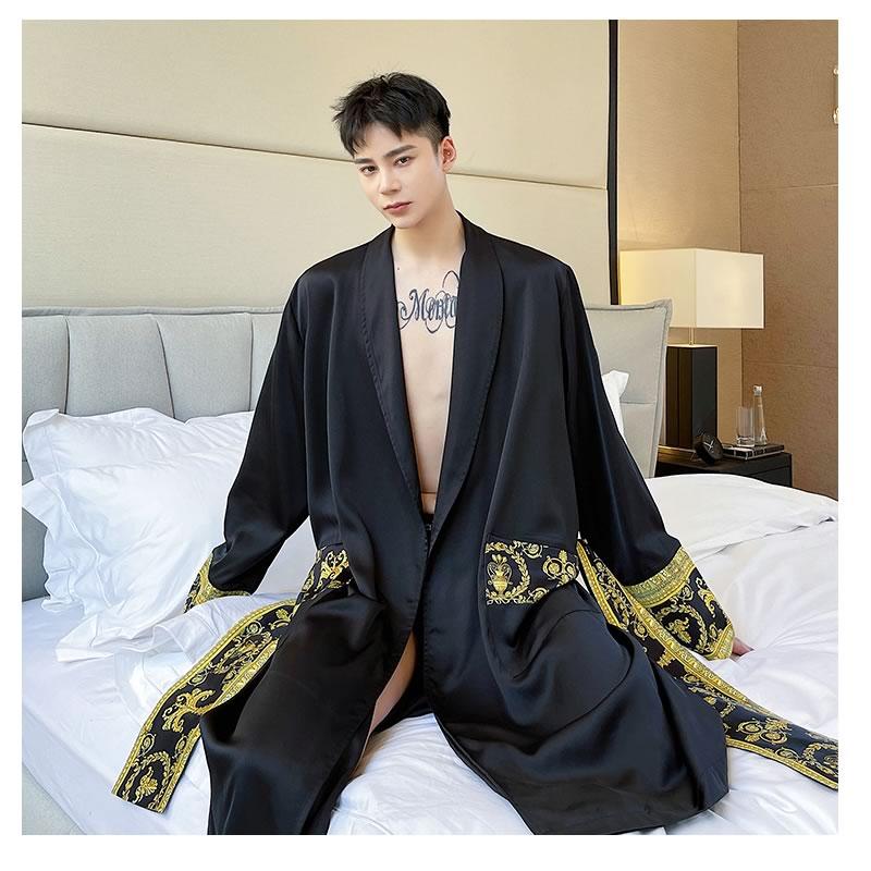韓国 ファッション ゆったり ルームウェア ナイトウェア ステイホーム ホームウェア ガウン パジャマ  寝巻  部屋着 男女 シェア服 メンズ レディース ユニセックス 男女兼用 夏 春 秋 冬 衣装  大きいサイズ ペアルック お揃い おそろ リンクコーデ  双子 カップル 親子