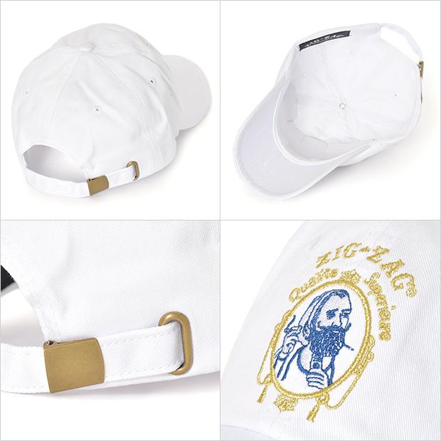 ZIG ZAG STRAPBACK CAP