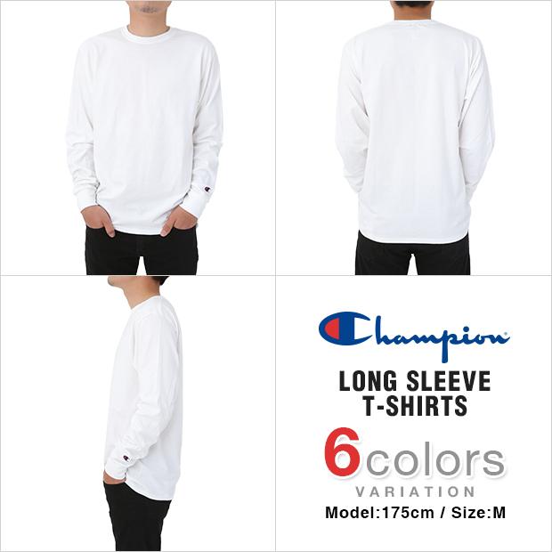 チャンピオン ロンT 長袖Tシャツ