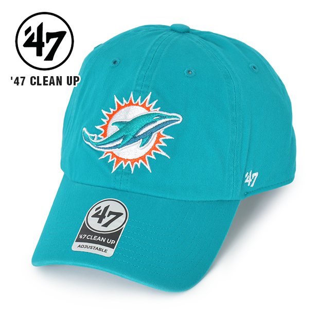 '47 MIAMI DOLPHINS CLEAN UP キャップ クリーンナップ マイアミ ドルフィンズ