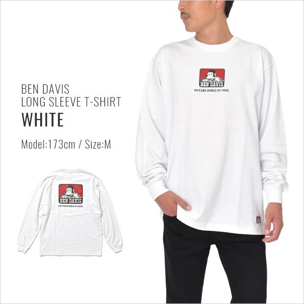 ベンデイビス ロンT 長袖Tシャツ RED ICON