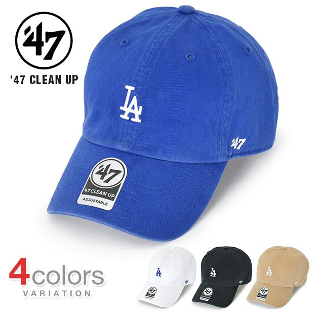 '47 LOS ANGELES DODGERS CLEEN UP キャップ スモールロゴ