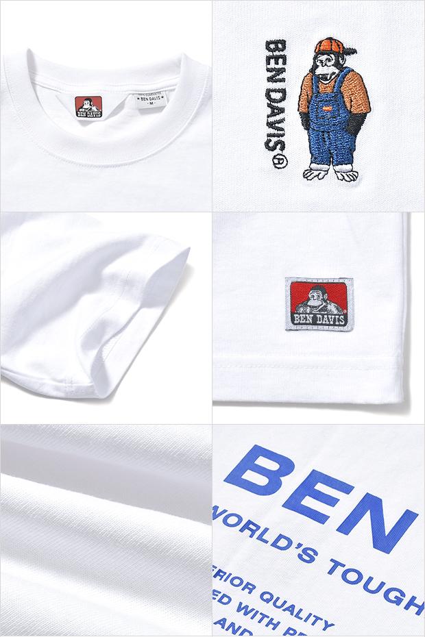 ベンデイビス Tシャツ BEN DAVIS MINI GORILLA EMB TEE