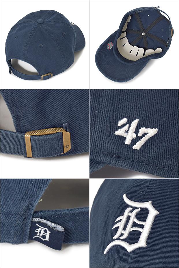 47 キャップ ローキャップ デトロイト タイガース DETROIT TIGERS メンズ レディース 帽子 GOLF DAD