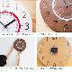 掛時計 study clock スタディクロック YK17-104