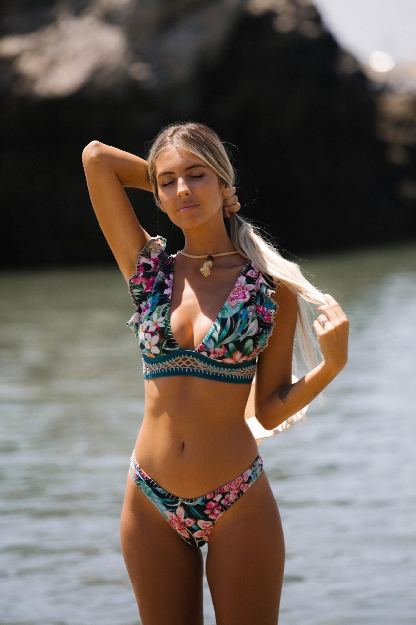 Del Maar レディース水着 ブラジリアンビキニ DMAA69