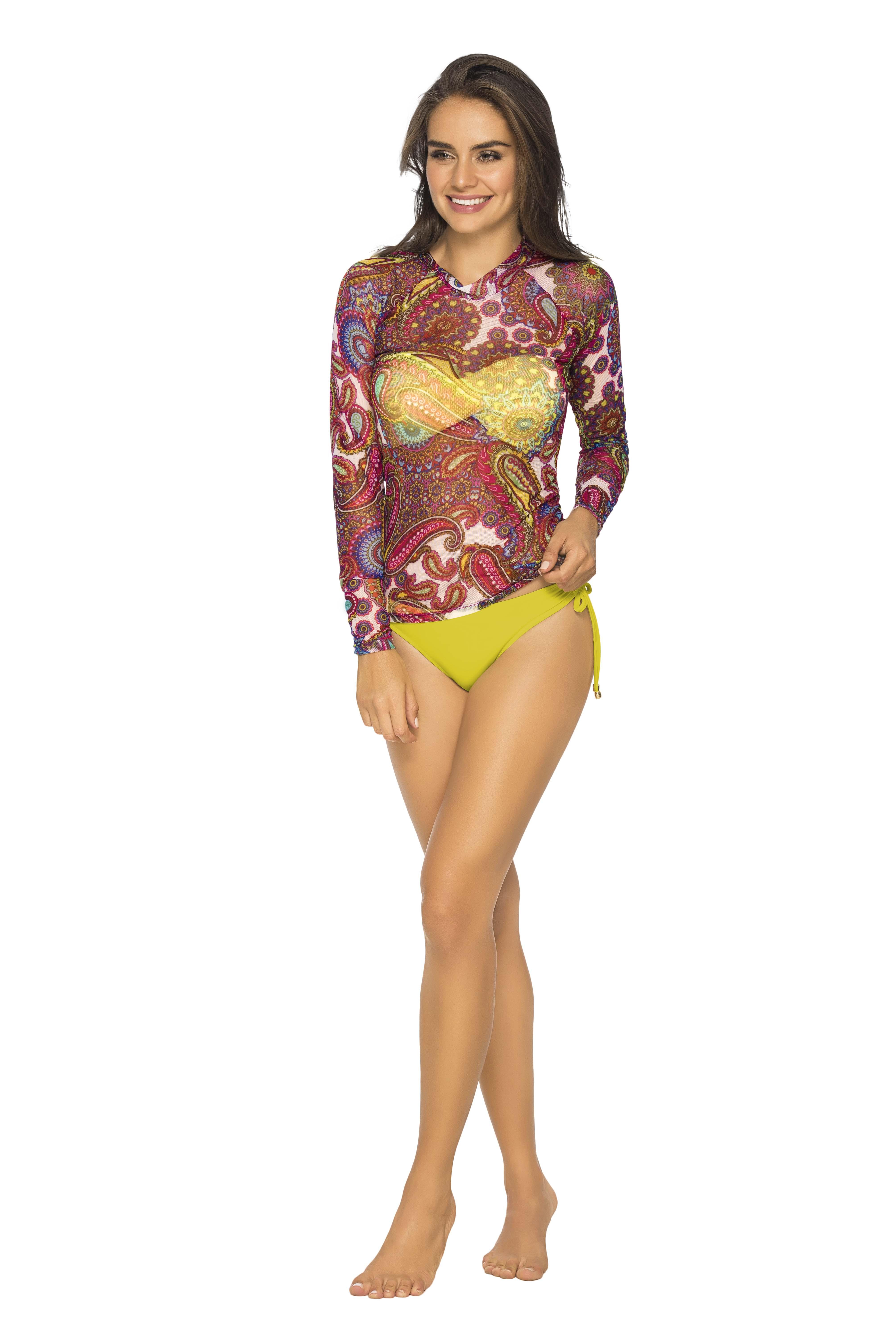 PHAX インポート リゾートウェア 水の中用メッシュシャツ SHIRTSS PF11620014 (M)