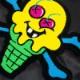 【50%OFF】 ICECREAM BONES VARISTY JACKET