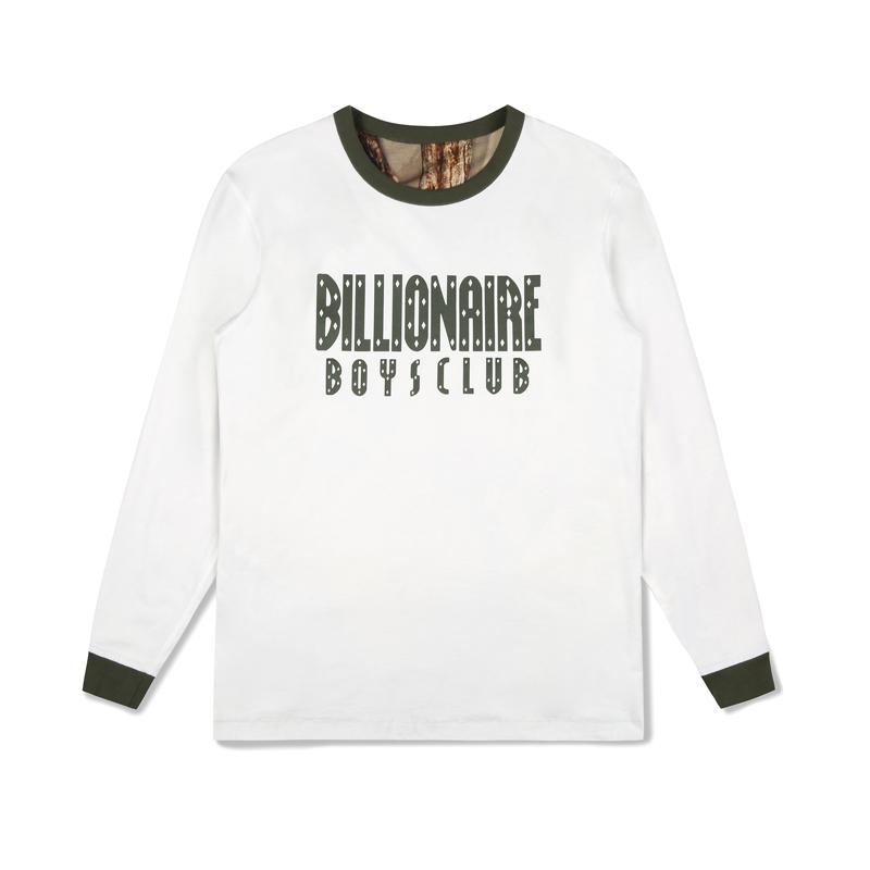 【50%OFF】 BILLIONAIRE BOYS CLUB REVERSIBLE CAMO L/S T-SHIRT