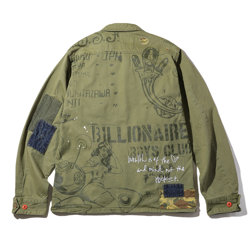 BB FATIGUED JACKET