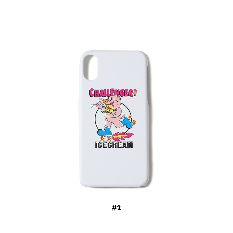 【30%OFF】 ICECREAM × CHALLENGER iPhone X CASE (JP EXCLUSIVE)