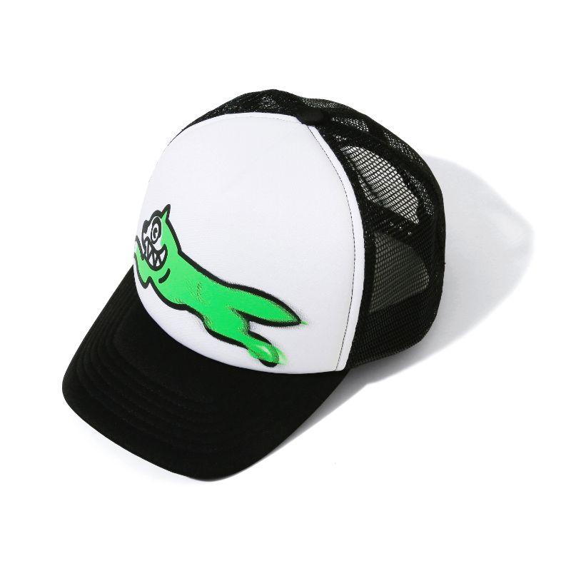 ICECREAM×PSYCHWORLD RUNNING DOG MESH CAP