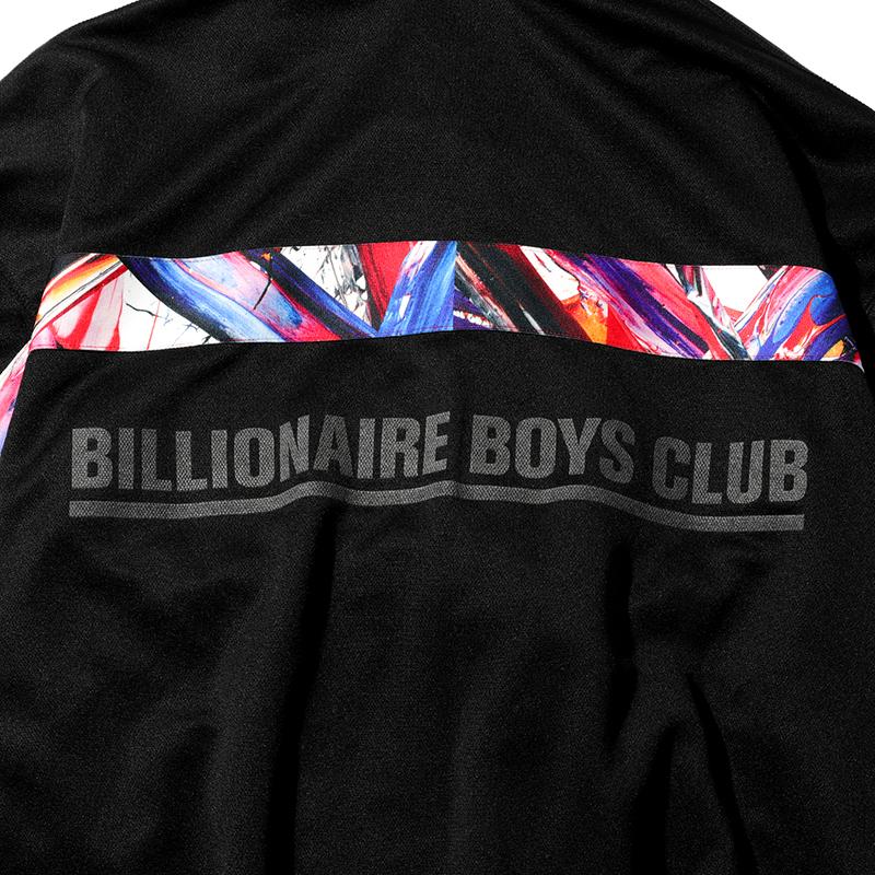 BILLIONAIRE BOYS CLUB × MEGURU YAMAGUCHI ZIP UP JERSEY HOODIE (JP EXCLUSIVE)