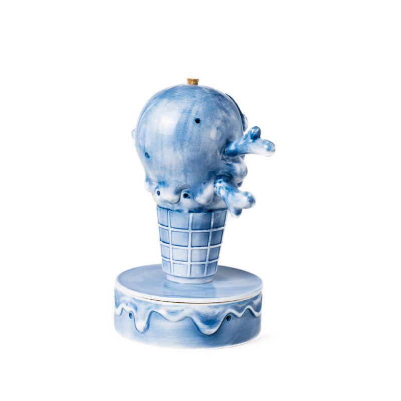ICECREAM x YEENJOY STUDIO CONES & BONES INCENCE CHAMBER (BLUE)