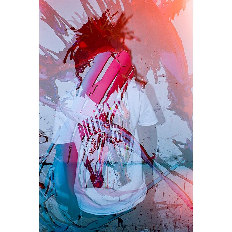 BILLIONAIRE BOYS CLUB × MEGURU YAMAGUCHI ARCH LOGO T-SHIRT (JP EXCLUSIVE)