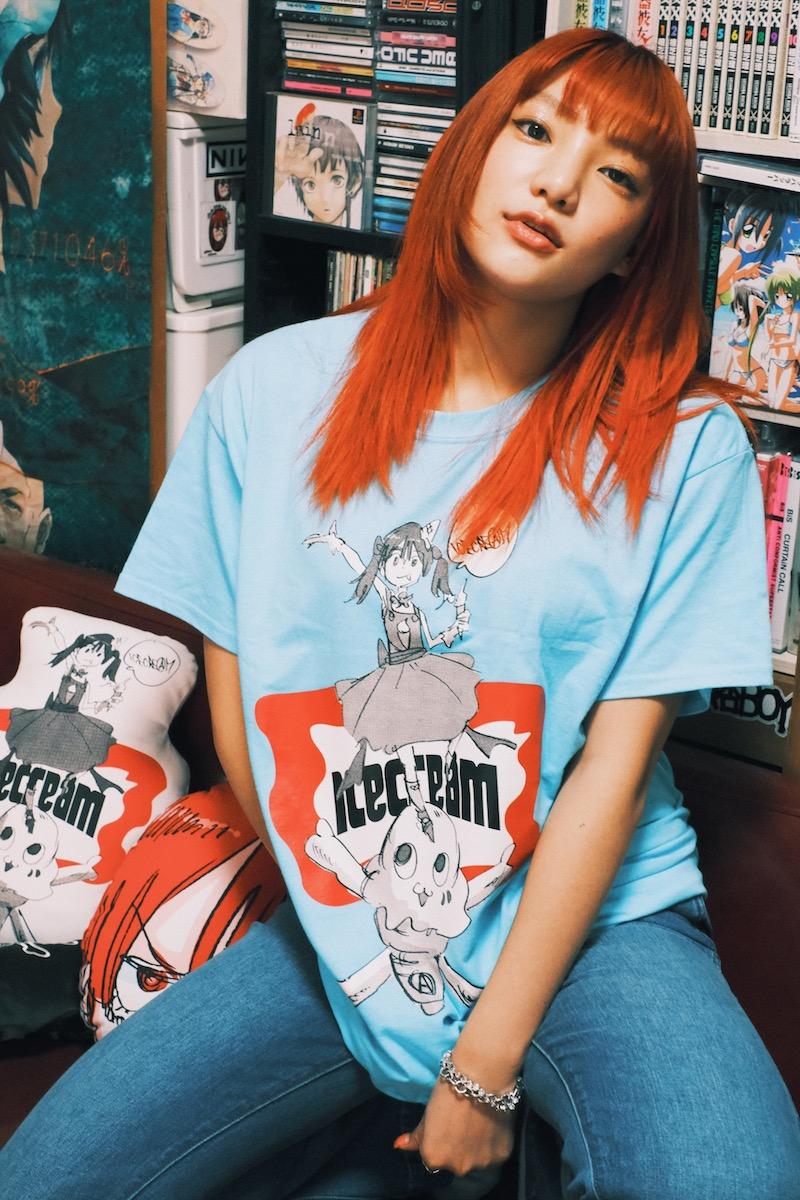 ICECREAM × JUN INAGAWA T-SHIRT