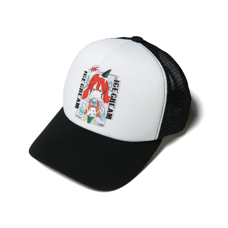ICECREAM × JUN INAGAWA TRUCKER HAT