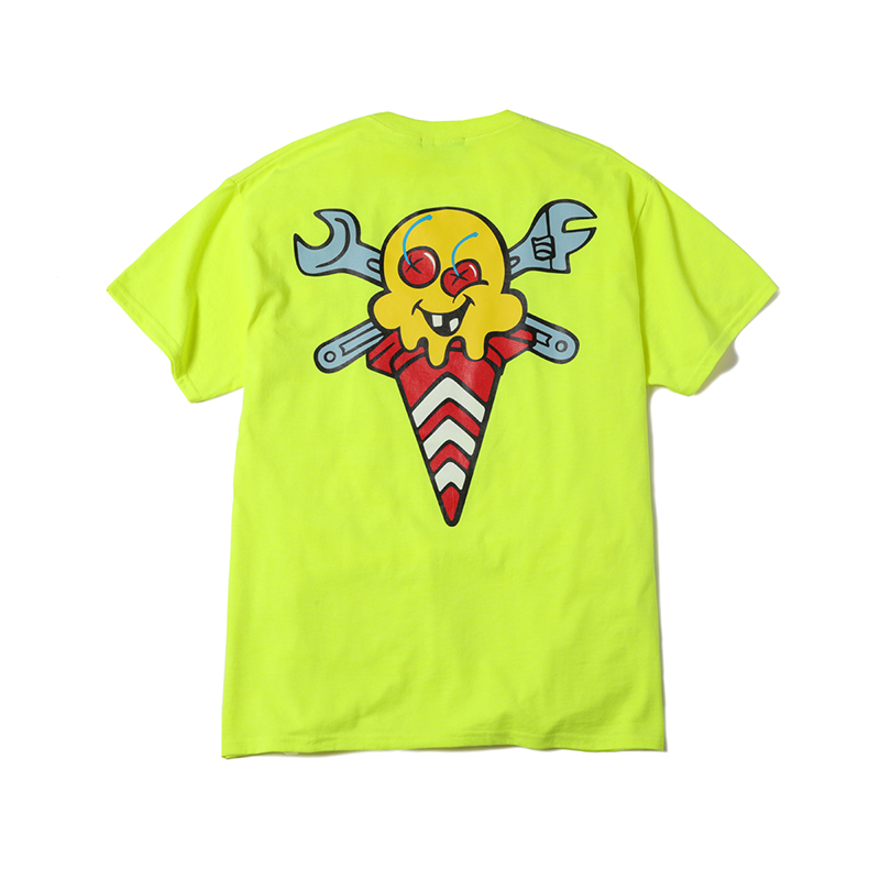 ICECREAM × YOPPI CONE&BONES T-SHIRT (JP EXCLUSIVE)