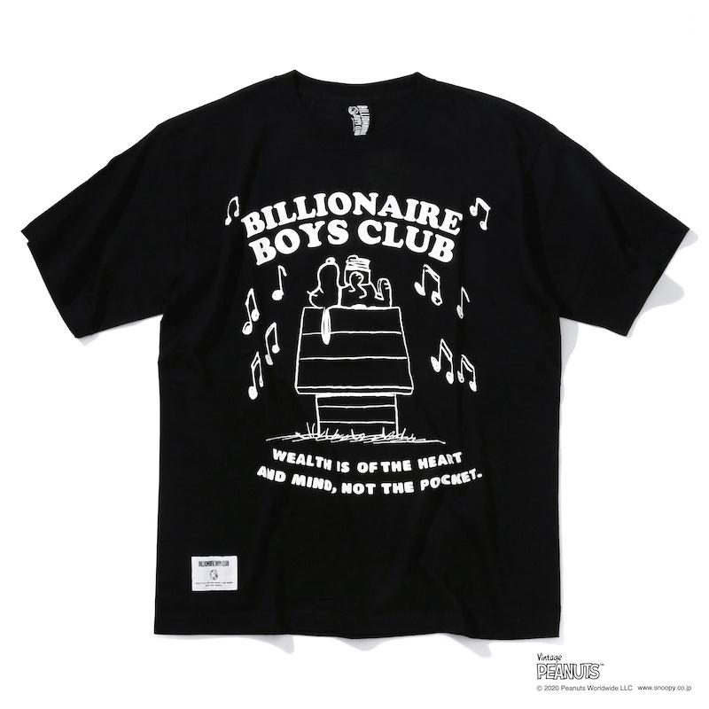 MUSIC T-SHIRT_ BILLIONAIRE BOYS CLUB × PEANUTS