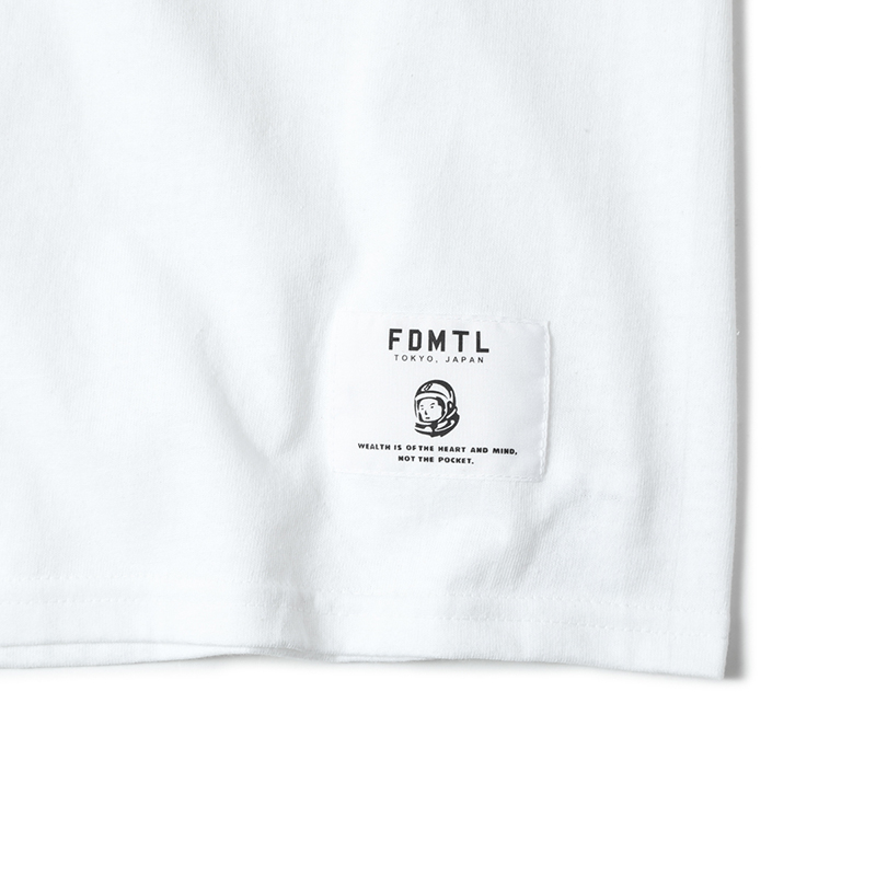 BILLIONAIRE BOYS CLUB × FDMTL T-SHIRTS EMBROIDERY (JP EXCLUSIVE)