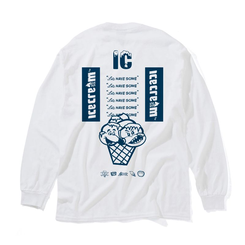 ICECREAM GRAPHICS L/S T-SHIRT