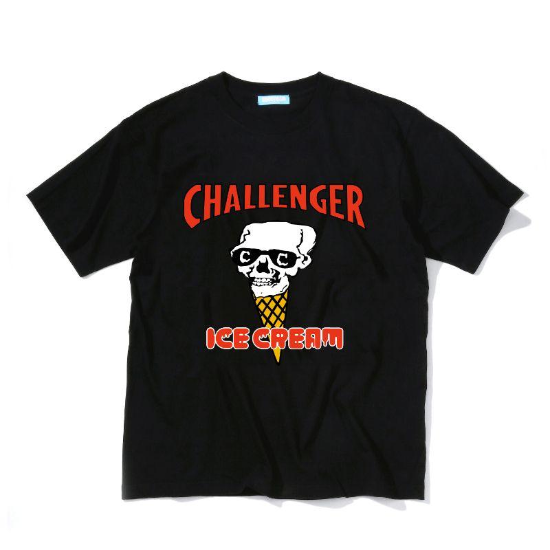 ICECREAM × CHALLENGER T-SHIRT