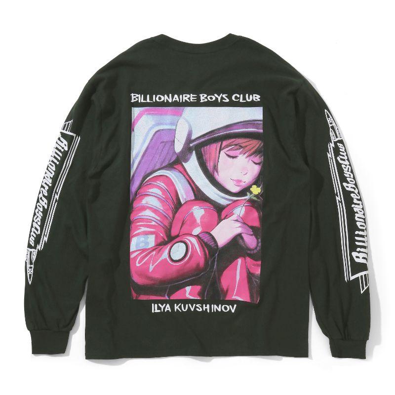 BILLIONAIRE BOYS CLUB × ILYA KUVSHINOV BACK ART L/S T-SHIRT
