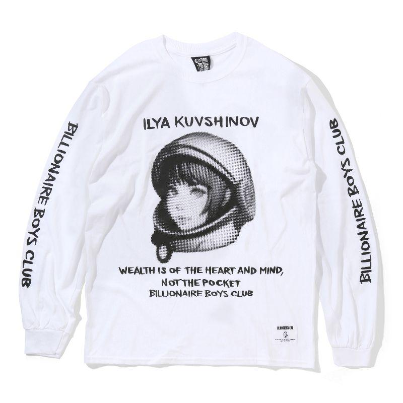 BILLIONAIRE BOYS CLUB × ILYA KUVSHINOV HELMET L/S T-SHIRT