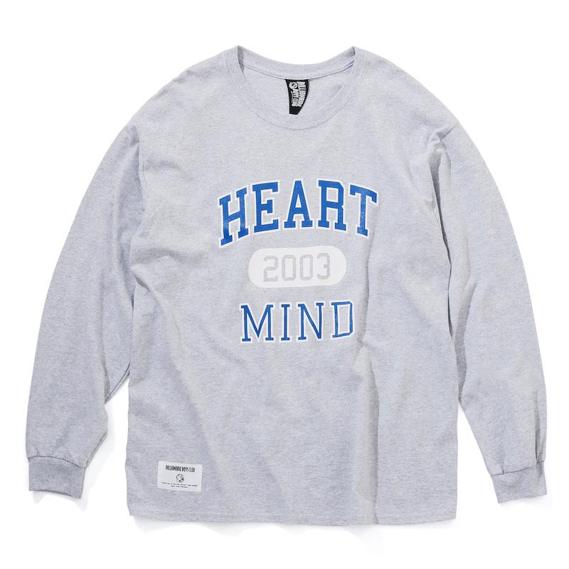 HEART & MIND COLLEGE L/S T-SHIRT