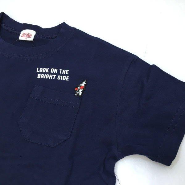 SECOND セカンド 子供服 21夏 ポケットワッペンややビッグTシャツ sec810136