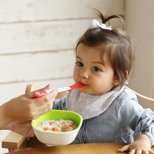 munchkin マンチキン たべたくなーる 離乳食スプーン/3本セット/レッド&ピンク 0735282172885
