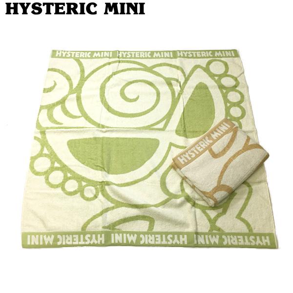 30%OFF セール 【返品・交換不可】 Hysteric mini ヒステリックミニ MY FIRST HYSTERIC オーガニックコットンバスタオル h10080078