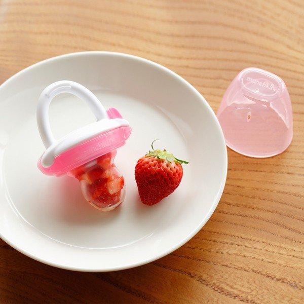 munchkin マンチキン たべたくなーる 離乳食フィーダー/ピンク 0735282172908