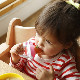 munchkin マンチキン たべたくなーる 離乳食フィーダー/ブルー 0735282172892