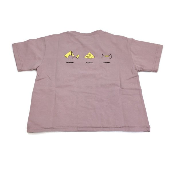 SECOND セカンド 子供服 21夏 テント切り替えビッグTシャツ sec810145