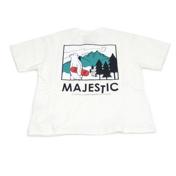 SECOND セカンド 子供服 21夏 MAJESTICビッグTシャツ sec810146