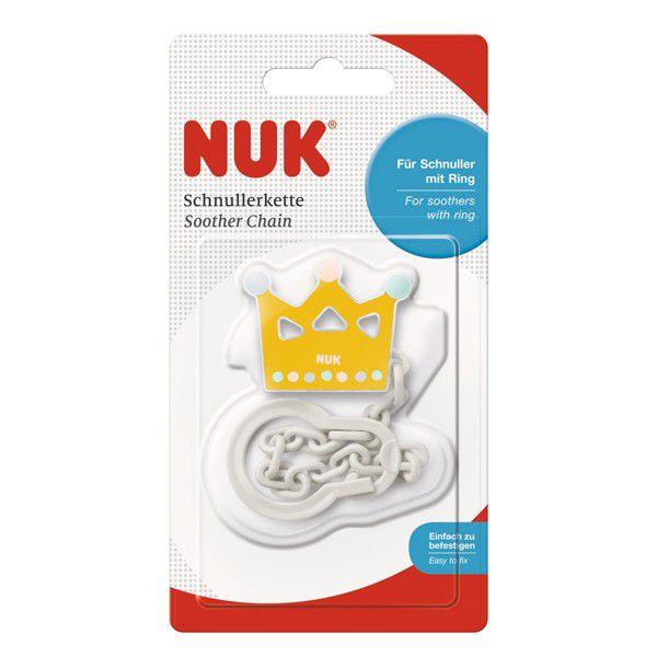NUK ヌーク おしゃぶりホルダー/クラウン 4943169136547