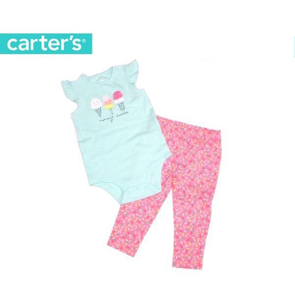 70%OFF セール 【返品・交換不可】 ベビー服 carter's カーターズ ロンパース パンツ 2点セット ct121I100