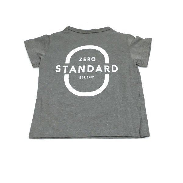 ZERO STANDARD ゼロスタンダード 子供服 21夏 zero Tシャツ zs100106