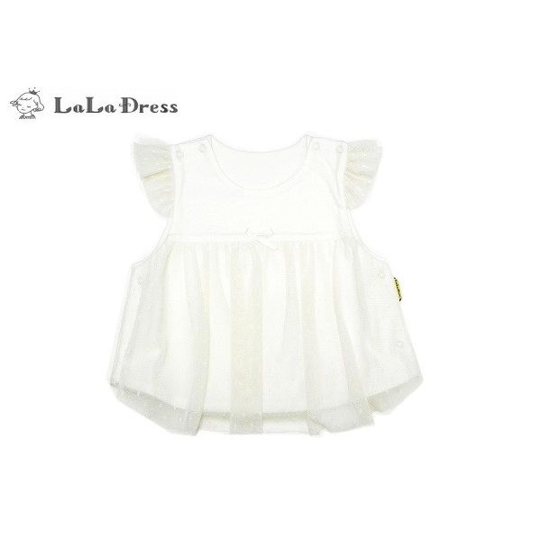 LaLaDress  ララドレス 子供服 ベスト ベビー ldLDG44