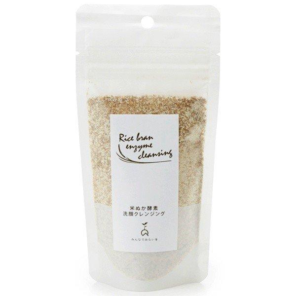 みんなでみらいを 100%無添加 米ぬか酵素洗顔クレンジング 詰替えパック m2276618