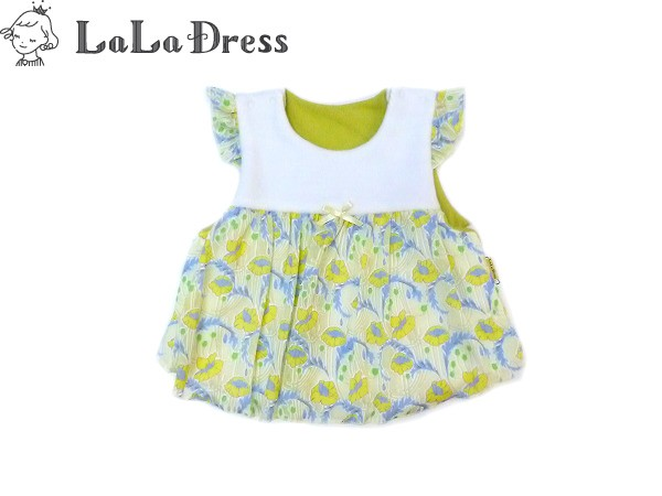 LaLaDress ララドレス 子供服 ベスト ベビー ld-LDG21