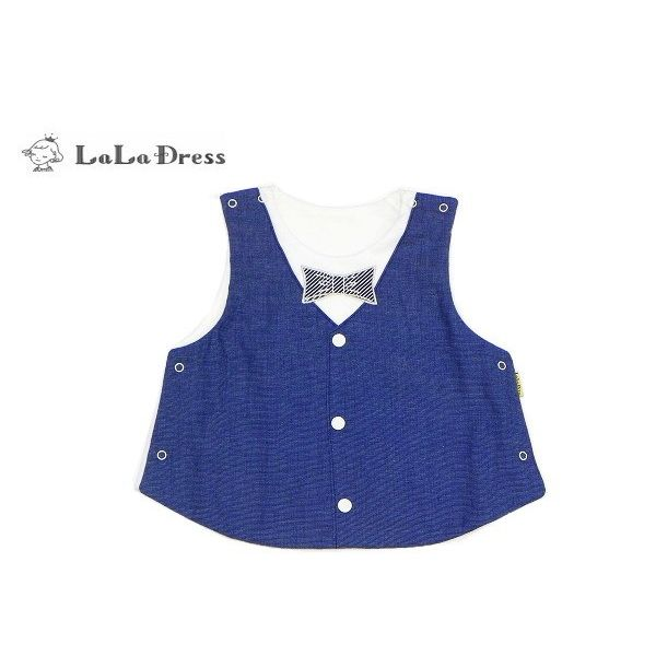 LaLaDress ララドレス 子供服 ベスト ベビー ldLDB13