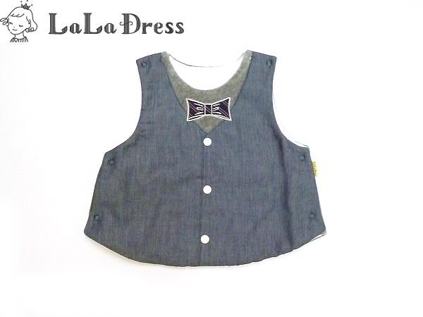 LaLaDress ララドレス 子供服 ベスト ベビー ld-LDB15