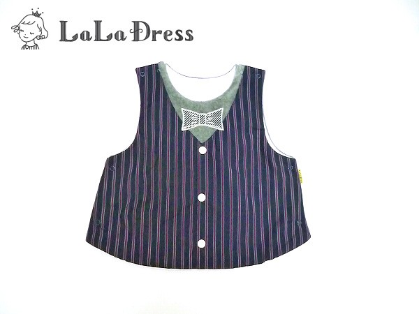 LaLaDress ララドレス 子供服  ベスト ベビー ld-LDB16