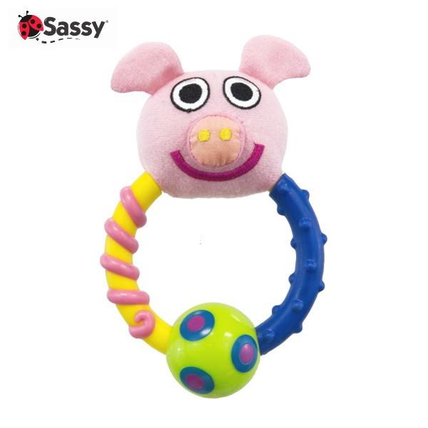 Sassy サッシー  ピンキー・ピッグ・ラトル  4943169113067