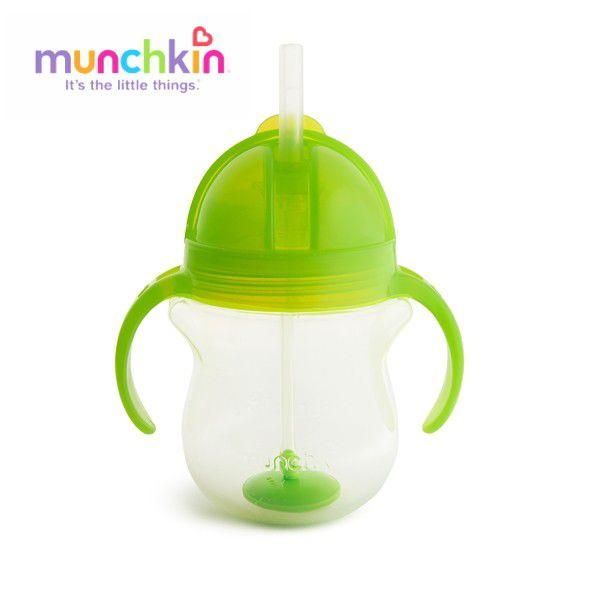 munchkin マンチキン クリック・ウェイトストローマグ/グリーン 735282109881
