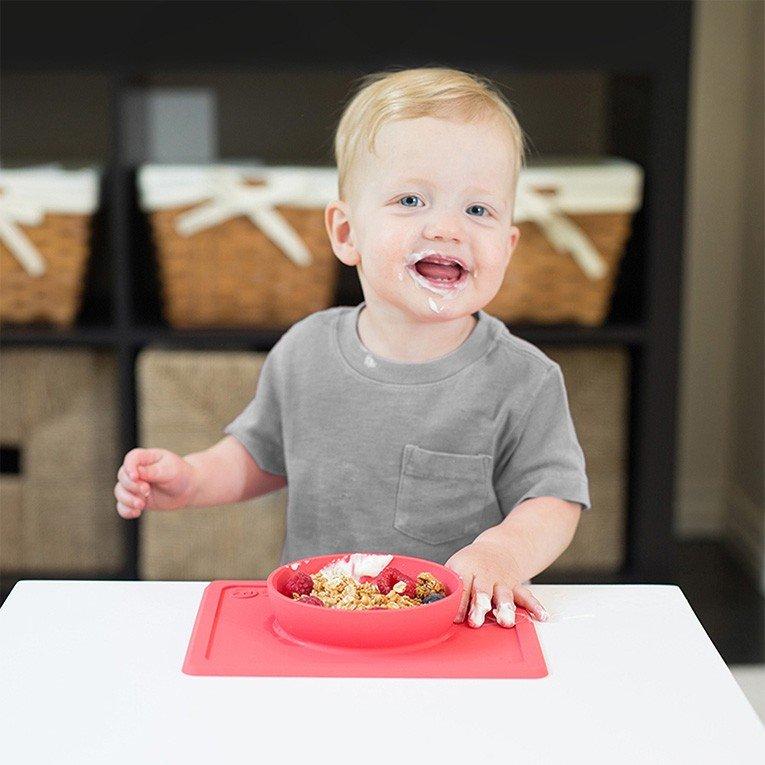 ezpz イージーピージー ひっくり返らないベビー食器 ミニボウル 6ヶ月 1歳  2歳  3歳 ezMB004